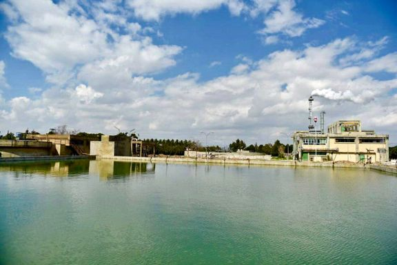 Tabriz Petrochemical Wastewater Basin, ready to hold nowruz fish!