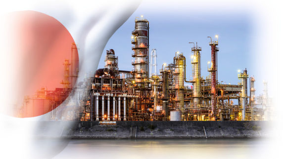 Japan Jan ethylene output falls 10.6% yr/yr.