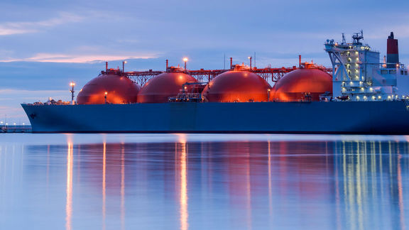 EIA: US LNG exports low.