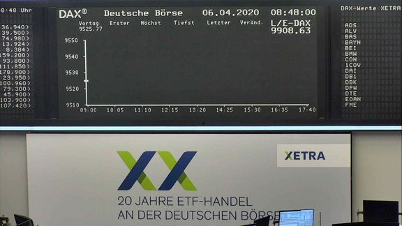 DAX stops trading amid technical problem on Xetra.