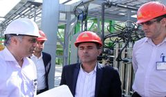 دیدار مدیرکل محیط زیست استان بوشهر از مجتمع پتروشیمی زاگرس