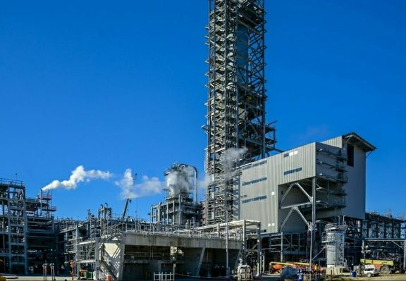 Construction wraps on Sasol's Louisiana petchem complex