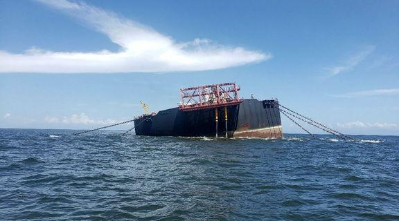 PDVSA crude storage vessel holding more than 1 mil barrels at risk of sinking
