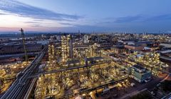 BASF Ludwigshafen plants operational amid supply chain difficulties